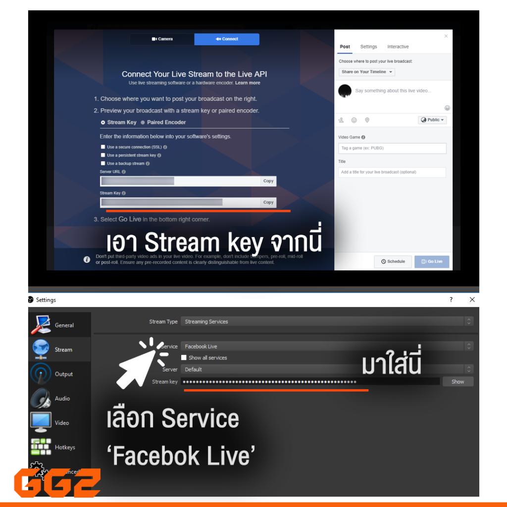 สอนสตรีมเกมเบื้องต้น Facebook Live [step-by-step] | GG2 - GG2