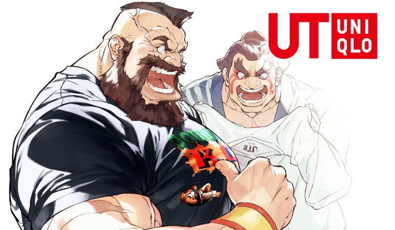 UT UNIQLO ออกคอลเล็กชั่นใหม่ 12 เสื้อยืดลาย Street Fighter
