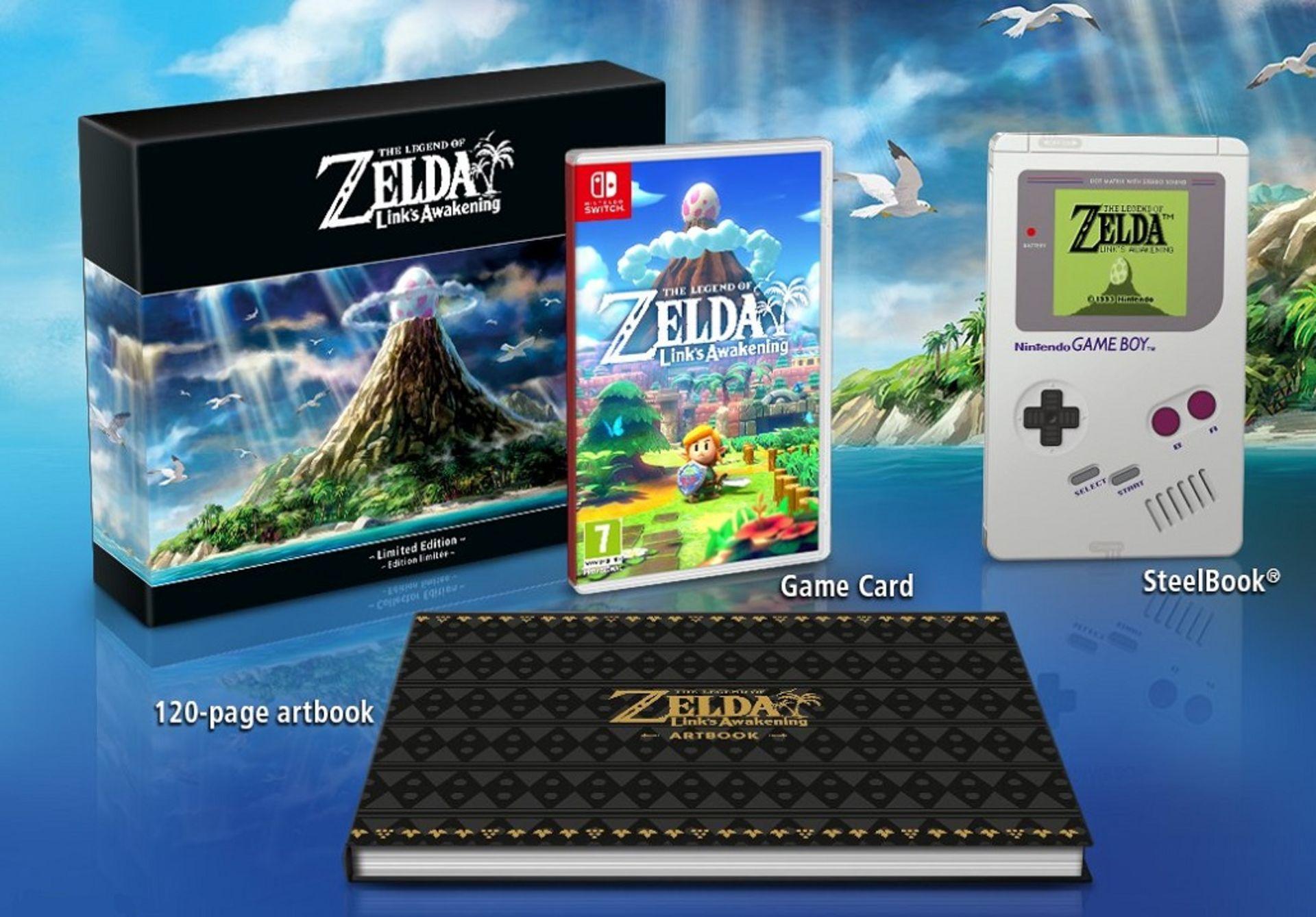 เผย The Legend of Zelda: Link's Awakening Limited Edition พร้อมอาร์ตบุ๊คและกล่องเกมบอย