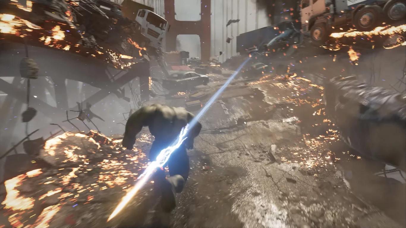 หลุดเกมเพลย์ Marvel's Avengers รับบทเป็นฮีโร่ในมุมมอง 3rd person