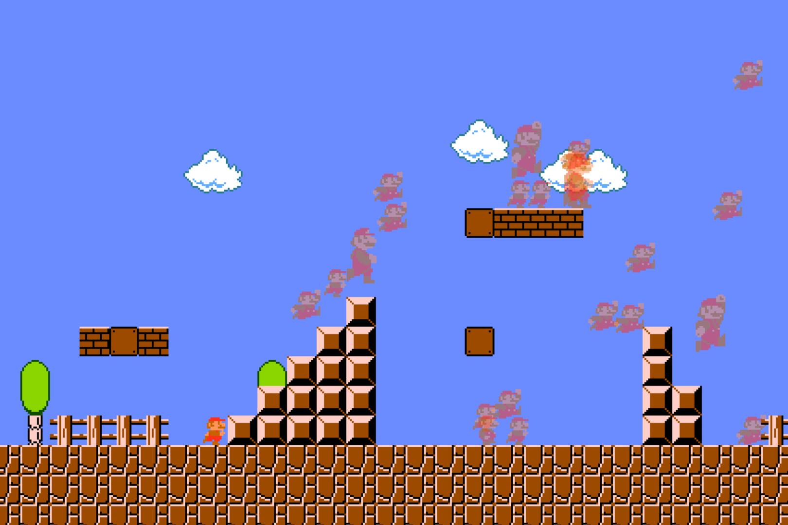 ถูกต้อง นี่คือ Mario Royale โดดเอาตัวรอดพร้อมกันเป็นหมู่คณะ