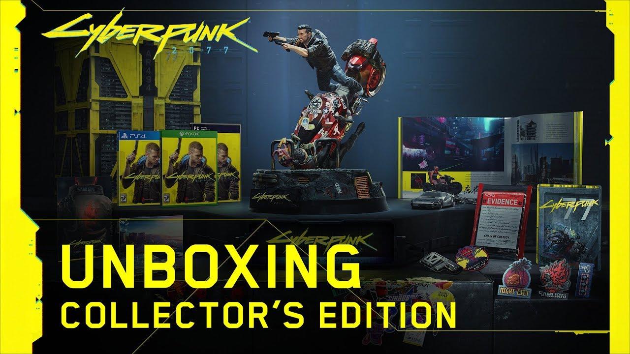 เสพความ Cyberpunk ให้อินสุด Collector's Edition ราคา $249
