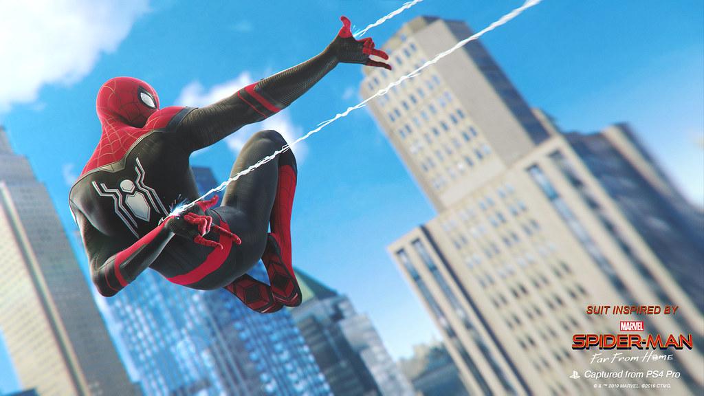 ต้อนรับ Far From Home เข้าโรง Spider-Man PS4 แจก 2 สกินฟรี!
