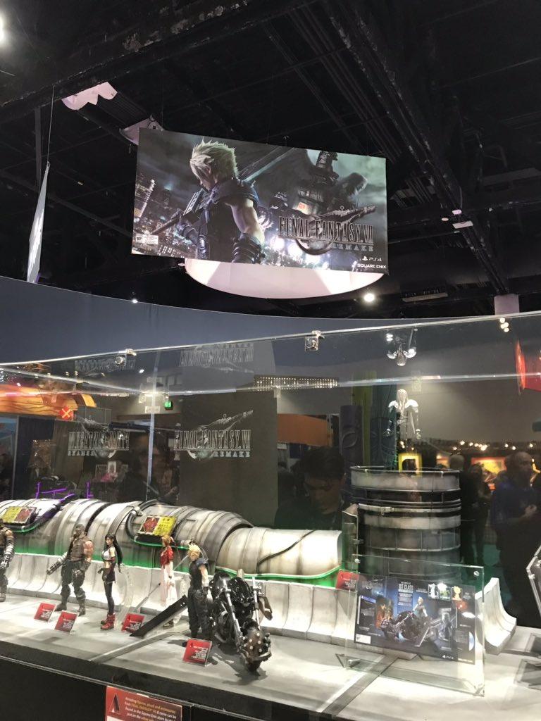 เปิดตัว Final Fantasy VII Remake PLAY ARTS KAI ดูกันชัดๆ Tifa, Aerith และ Sephiroth