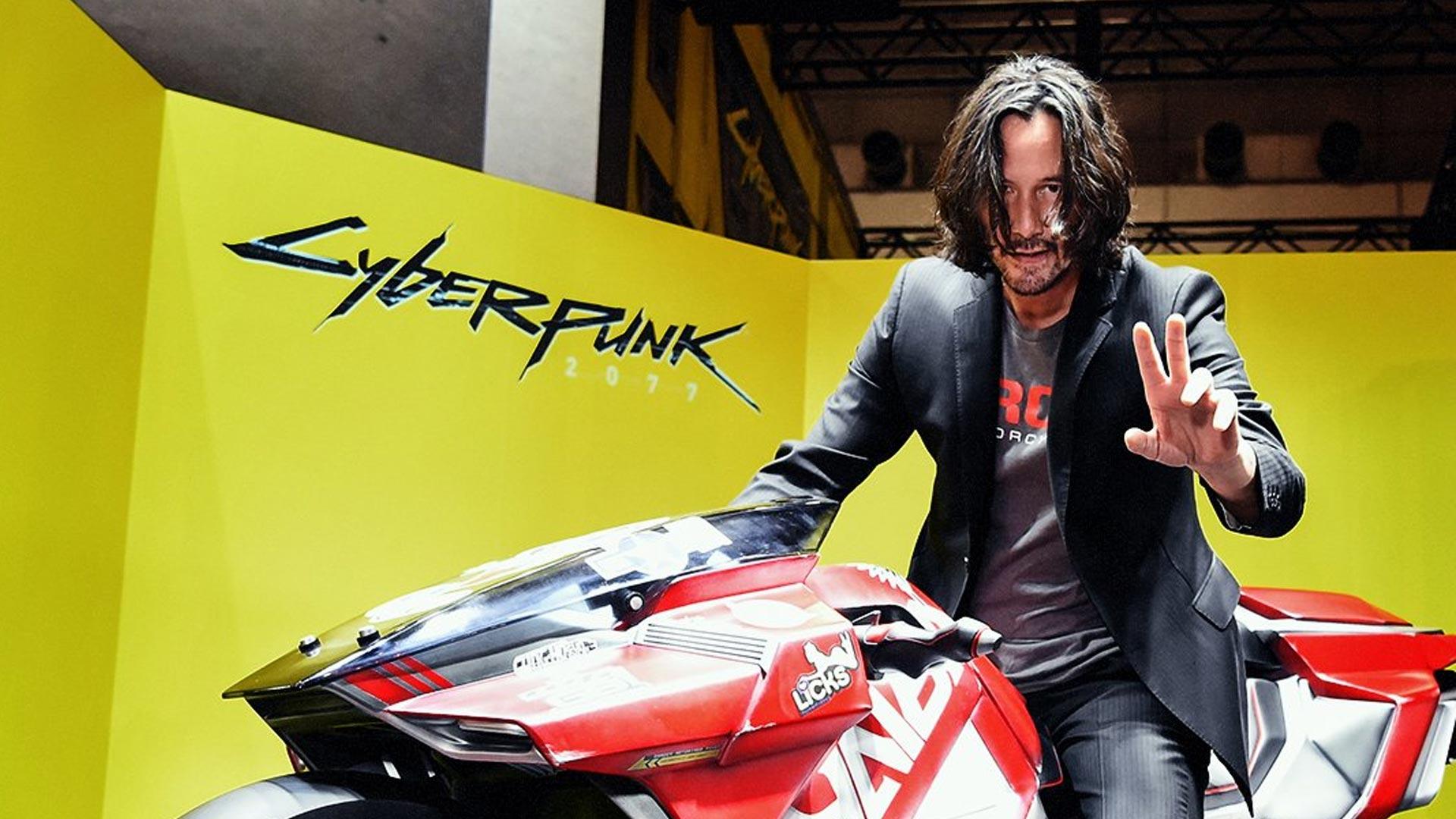 Breathtaking in JAPAN! Keanu Reeves แวะบูธ Cyberpunk 2077 ในงาน TGS2019