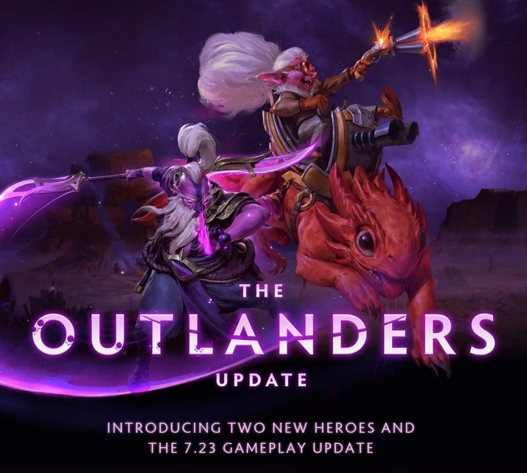 Dota 2 Outlanders อัปแพทช์ใหญ่จนแทบจะเรียกว่า Dota 3 !!