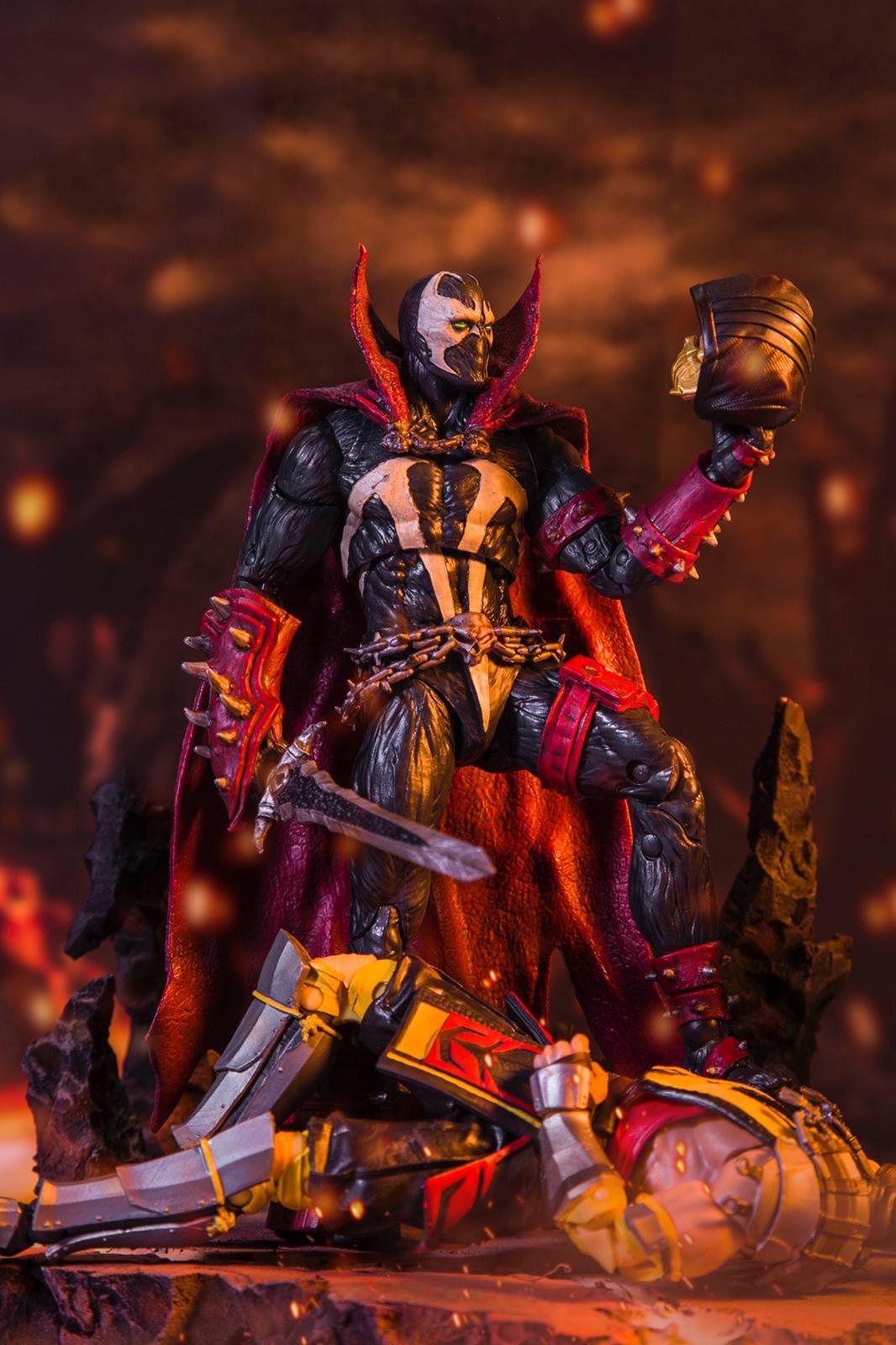 เปิดตัวของเล่นใหม่ SPAWN ถือดาบ  พร้อมลง Mortal Kombat 11 มีนาคมนี้