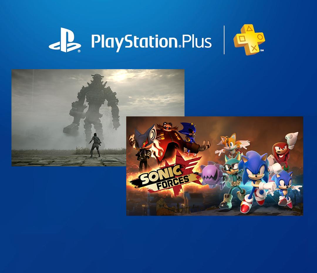 2 เกมฟรี PS Plus ประจำเดือน มีนาคม Shadow of Colossus / Sonic Forces