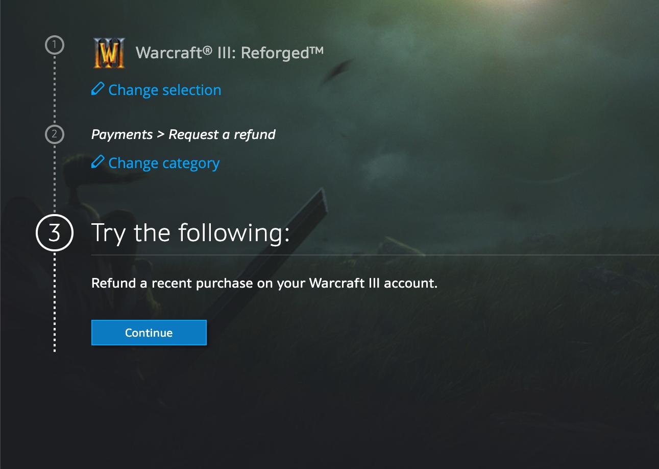 ยอมแล้วจ้า Warcraft 3: Reforged เปิดให้ผู้เล่นทำการ Refund ได้แล้ว