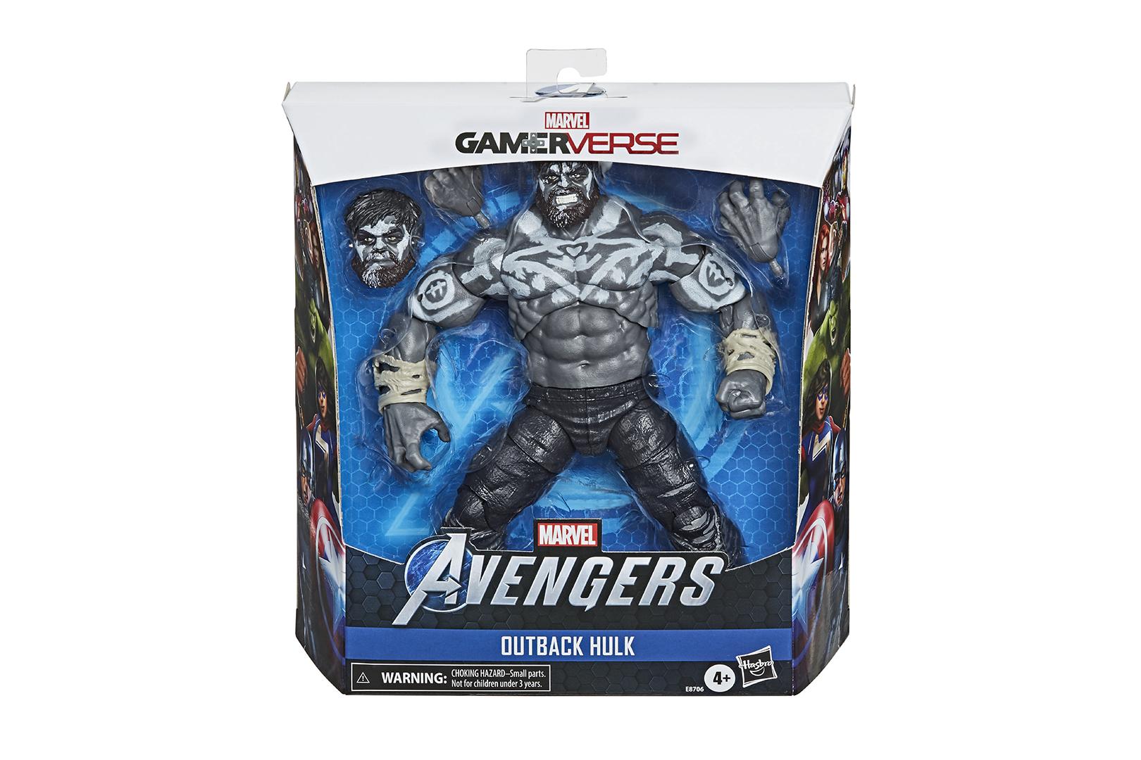 เผยโฉม Marvel Legends Outback Hulk ฟิกเกอร์จากเกม Marvel's Avengers