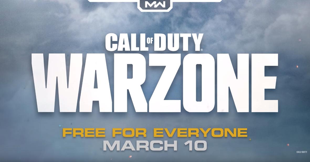 เปิดตัว Call of Duty: Warzone  Battle Royale เล่นฟรี ตีสองนี้เจอกัน